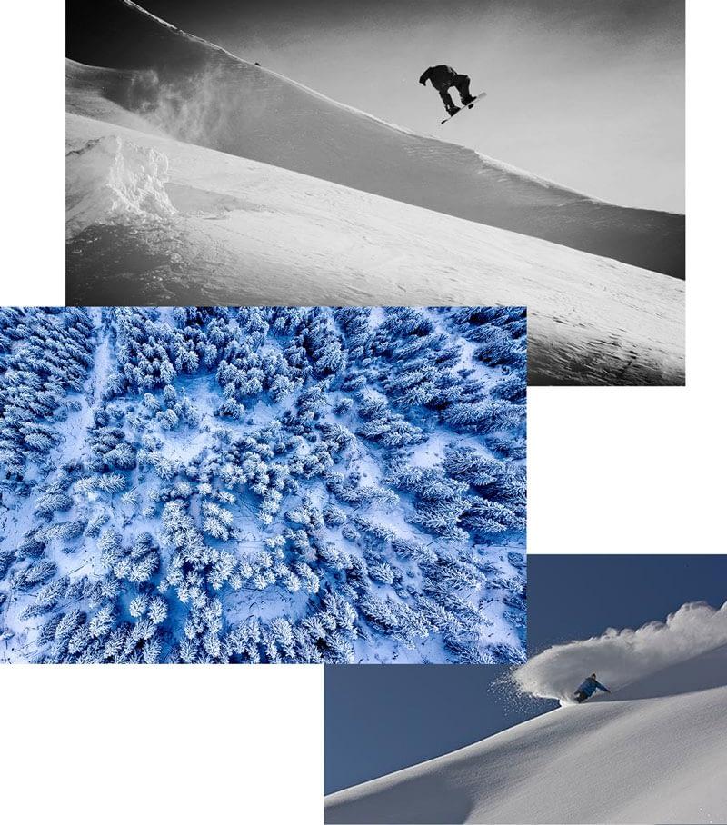 saas fee snowboard lessons 2
