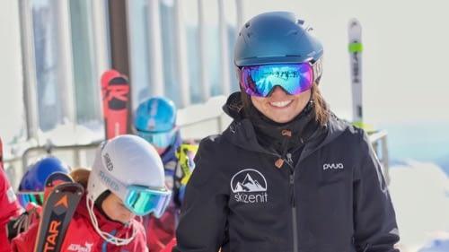 Instructores de esquí altamente cualificados en Grimentz-Zinal