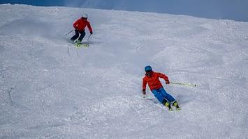 Expert skier lessons