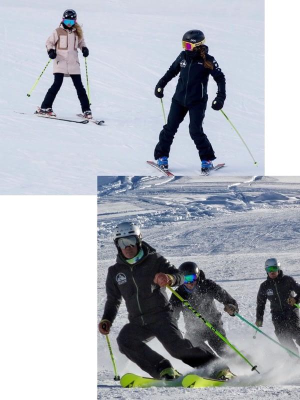 Por qué elegir nuestra escuela de esquí Grimentz-Zinal