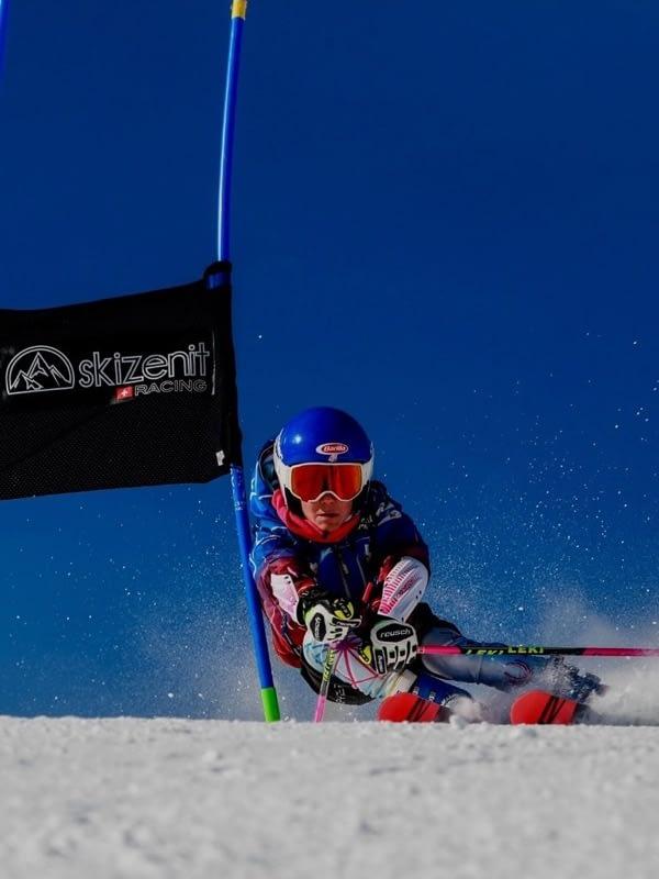 Nuestra escuela de esquí Grimentz-Zinal entrenamiento competición