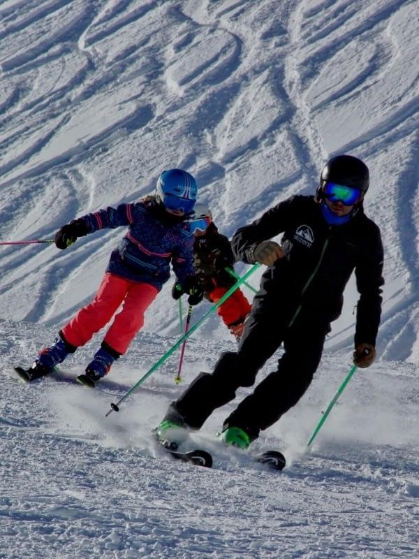 Nuestra escuela de esquí Grimentz-Zinal clases esquí