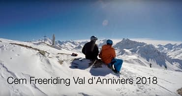Grimentz-Zinal freeride skiing Ski Zenit